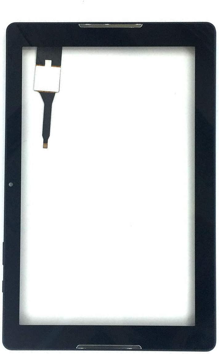 TheCoolCube Touch Panel Digitizer Replacement Screen Glass with Frame Compatible with Acer Iconia One 10 B3-A30 10.1 inch A6003 (Not Include LCD) (Black)