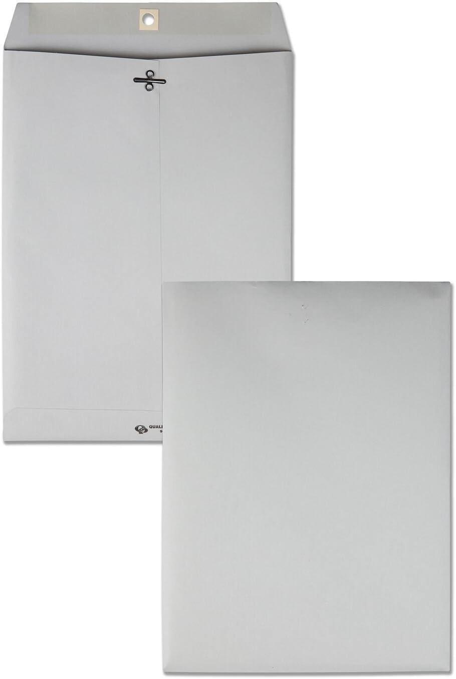 B0006ZH6AG Quality Park Quality Park Executive Gray Gummed Clasp Envelopes (QUA38590) 61RyMyH4fnL