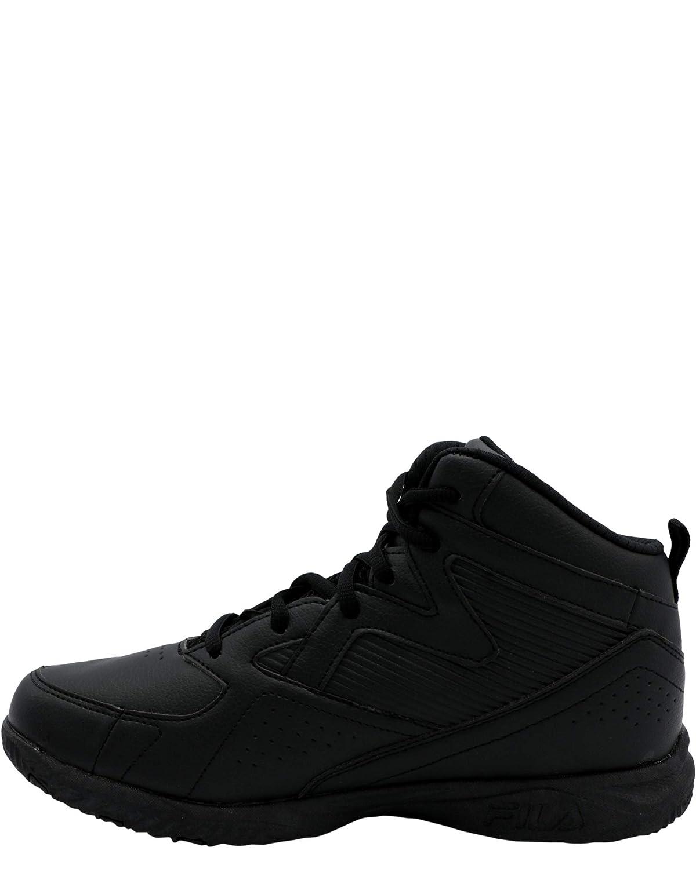 ,Black,2 Little Kid Fila Kids Boys Transportal 3 Sneaker