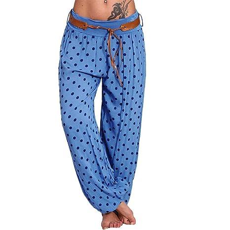 Amazon.com: Pantalones boho para mujer, ropa hippie, trajes ...