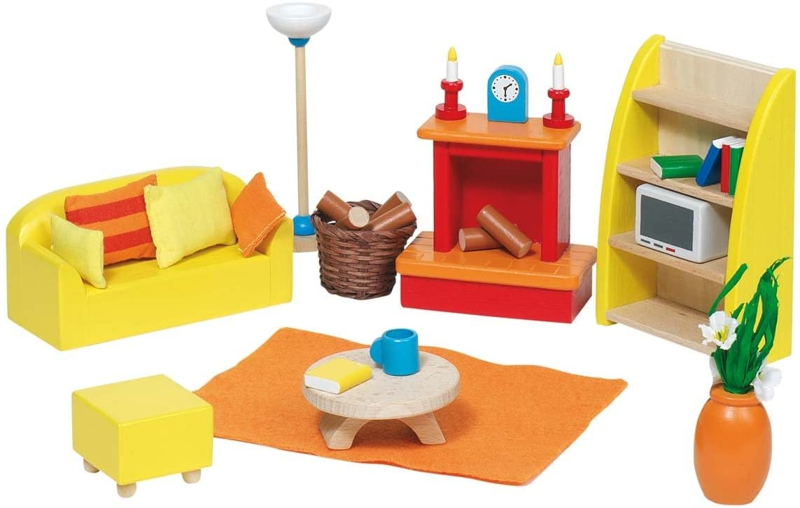 Goki Doll Furniture Living Room (24 Piece)
