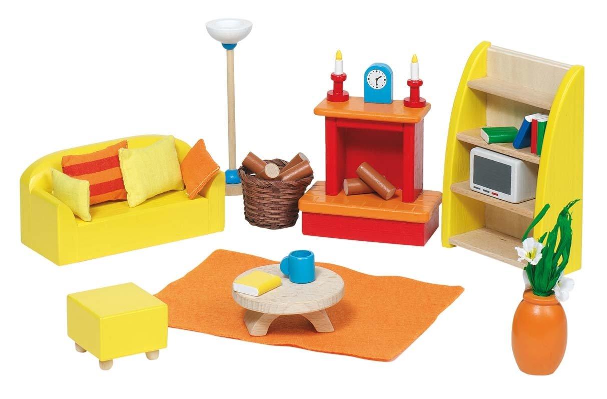Goki Puppenhaus - Goki Puppenhausmöbel für das Wohnzimmer