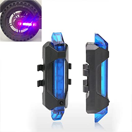 LICHIFIT - Tira de Luces LED de Advertencia para Bicicleta de Noche, Luces traseras de Seguridad para Xiaomi Mijia M365 Electric Scooter