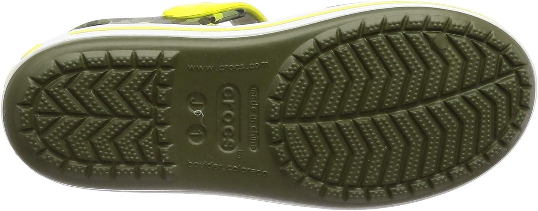 Crocs Crocband Seasonalgraphic Sdl K Bambini Sandali Punta Aperta Unisex