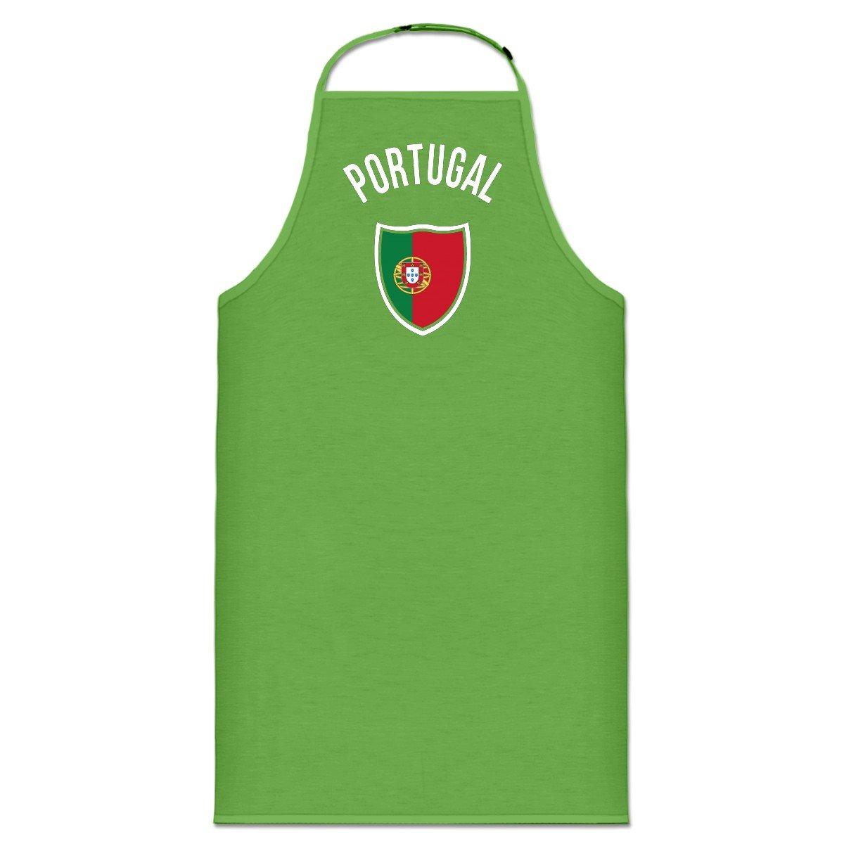 Delantal de cocina Portugal Fan by Shirtcity: Amazon.es: Ropa y accesorios