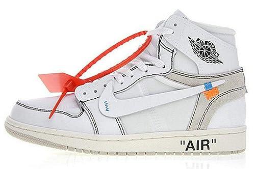 X Aa3834 De Zapatos es Deporte Y 002 White Off Para Amazon Zapatillas Jordan Complementos 1 Air Joshua Mujer Hombre fxzn1qY5w