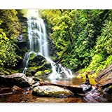 "photo wall murals  Photo Wallpaper Waterfall 96""x69"" XXL Peel and Stick Self-Adhesive Foil Wall Mural Removable Sticker Premium Print Picture Image Design Home Decor 10110903-41"