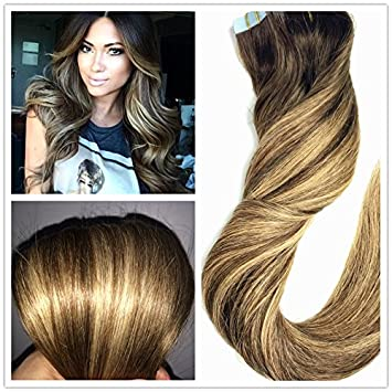 Amazon.com : Stella Reina 16 Gram Ombre Highlights Honey Blonde ...
