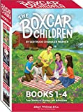 Books : The Boxcar Children Books 1-4 ( Cover may Vary )