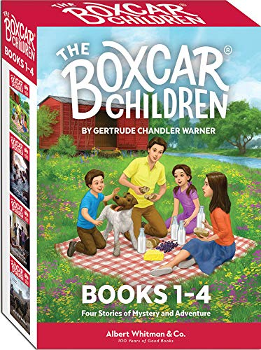 The Boxcar Children Books 1-4 (The Best Car Starter)