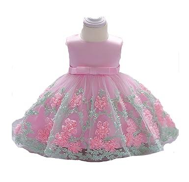 6f46281594764 Amazon.com: Fancy Baby Girl Dress Baptism Dresses for Girls 1 Year ...