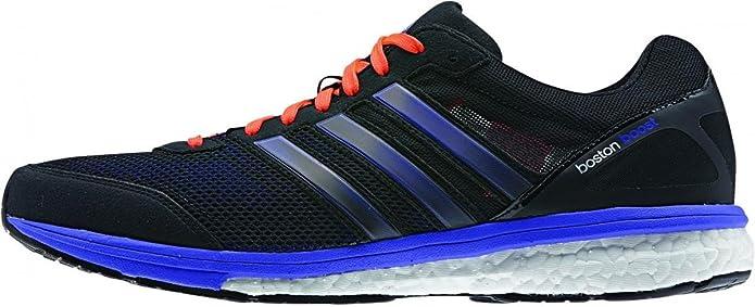 adidas B44009 - Zapatillas de Running de Material sintético Hombre Negro Negro Talla:12 UK: Amazon.es: Zapatos y complementos