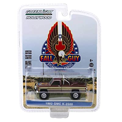 Greenlight Hollywood Series 26: 1982 GMC K-2500 Fall Guy Stuntman Association 1/64 Scale: Toys & Games