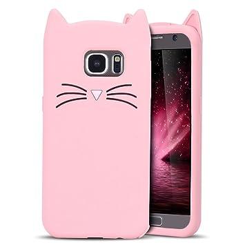 Anfire Funda Samsung Galaxy S7 Suave Carcasa Silicona Case ...