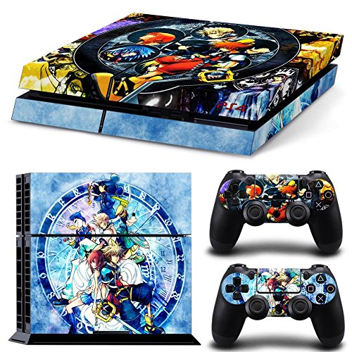 EBTY-Dreams Inc. - Sony Playstation 4 (PS4) - Kingdom Hearts Video Game Sora Kairi Riku Vinyl Skin Sticker Decal Protector