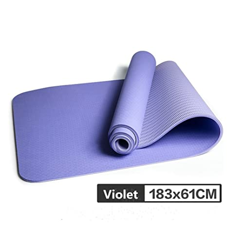Amazon.com : Full firepower Dual Color Yoga Mat, 6mm Thick ...