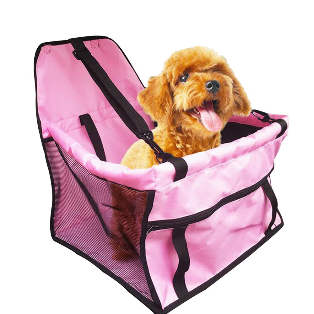 Guardians Portable Pet Booster Seat Car Dog Carrier Mesh Sided Travel Cars Bag for Pets Backseat Accessories