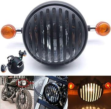 Replacement Turn Signal Lens Set Honda Kawasaki Cafe Bobber Chopper Red