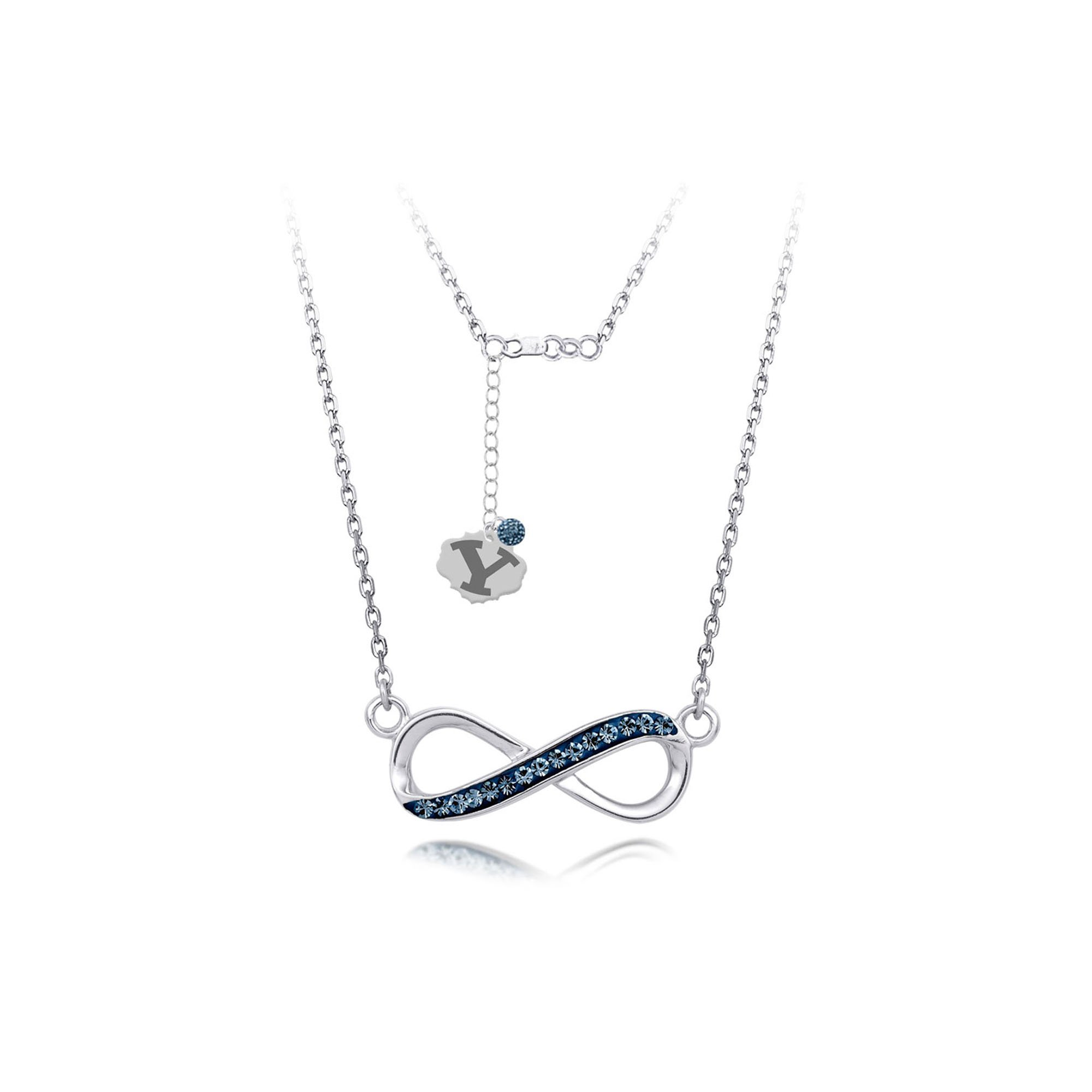 Silver Pendant, Spirit Infinity Nk/Brigham Young Univ