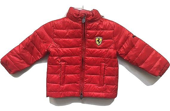 da7a60a7d451 Amazon.com  PUMA Ferrari Boy s Puffy Jacket Red  Clothing