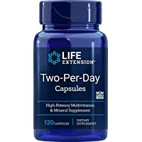Life Extension Two Per Day (High Potency Multivitamin & Mineral Supplement), 120...