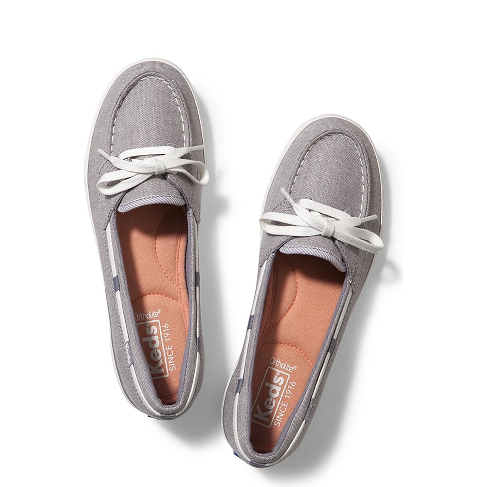 Keds Womens Glimmer Chambray Sneakers e