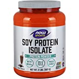 NOW Sports Soy Protein Isolate, Creamy Chocolate, 2-Pound