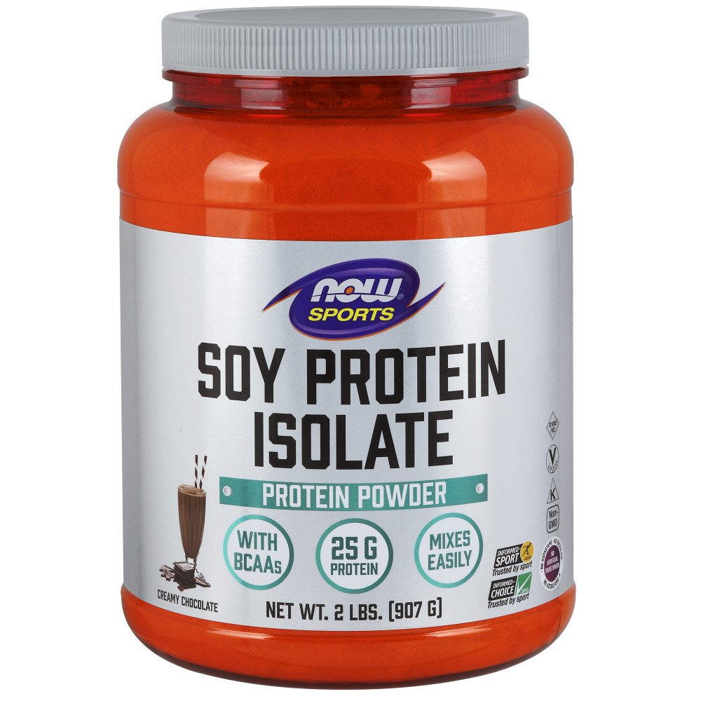 Now Foods Soy Protein Isolate, Natural Chocolate, 2-Pound: Amazon.es: Salud y cuidado personal