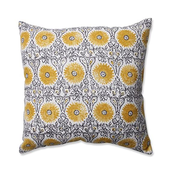 Pillow Perfect Riya Yellow Throw Pillow -  - living-room-soft-furnishings, living-room, decorative-pillows - 61RyaJoPypL. SS570  -