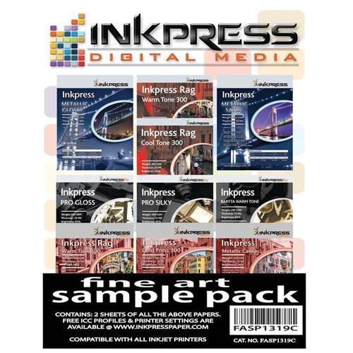 - Inkpress Fine Art Sample Pack, 13x19