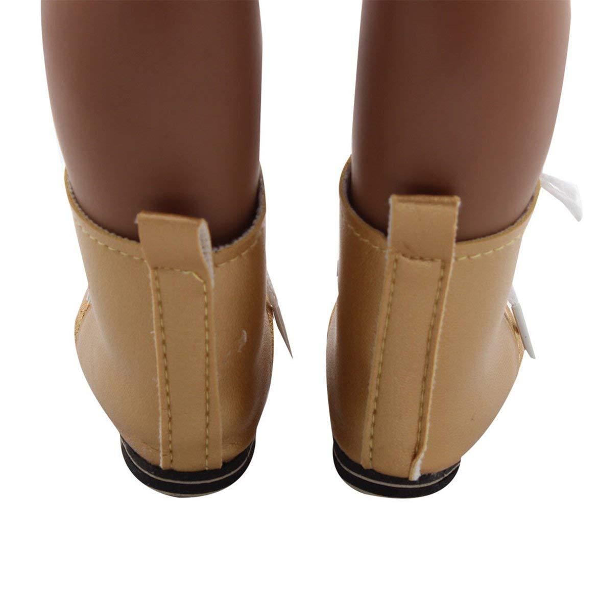Puppen & Zubehör Kongqiabona 18 Zoll Mädchen Puppe Schuhe