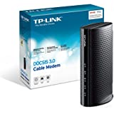TP-Link DOCSIS 3.0 (8x4) Cable Modem Certified with Comcast Xfinity, Time Warner Cable, Charter, Cox, Cablevision, and more (TC-7610-E)