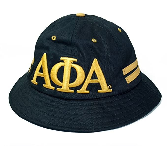 e7fb71cbb47 Greek Collection Alpha Phi Alpha Fraternity Men s 2018 Bucket Hat Black at  Amazon Men s Clothing store