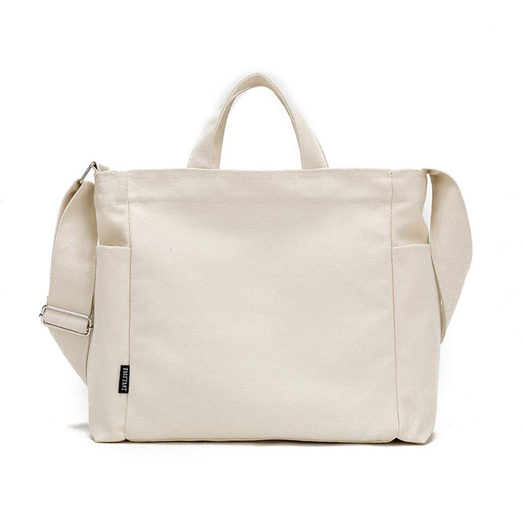 Fashion Bags Unisex Canvas Messenger Shopping Bag Travel Student School Crossbody Bag,Outsta 2019 Deals