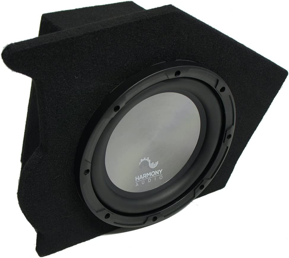 Compatible with 1993-2002 Chevy Camaro Coupe Driver Side 10 Harmony A102 Sub Box Enclosure