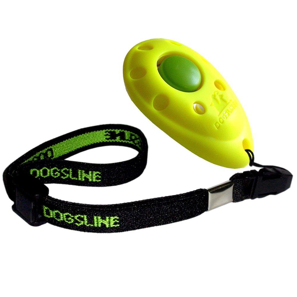DOGSLINE Profi Clicker mit elastischer Handschlaufe für Clickertraining product image