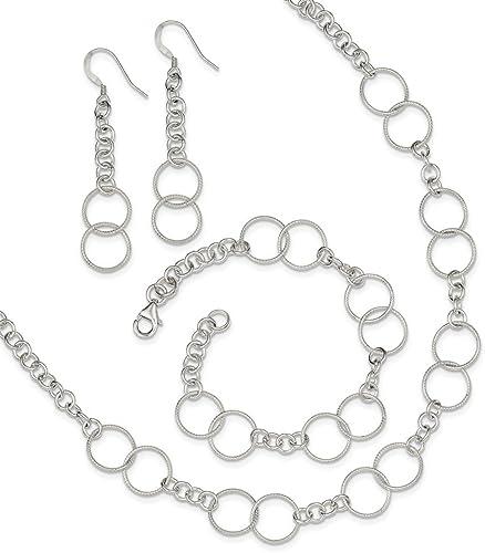 Jewelry Set Silver Bracelet Silver Necklace Dressy Necklace Silver Necklace And Bracelet Dressy Bracelet Silver Jewelry
