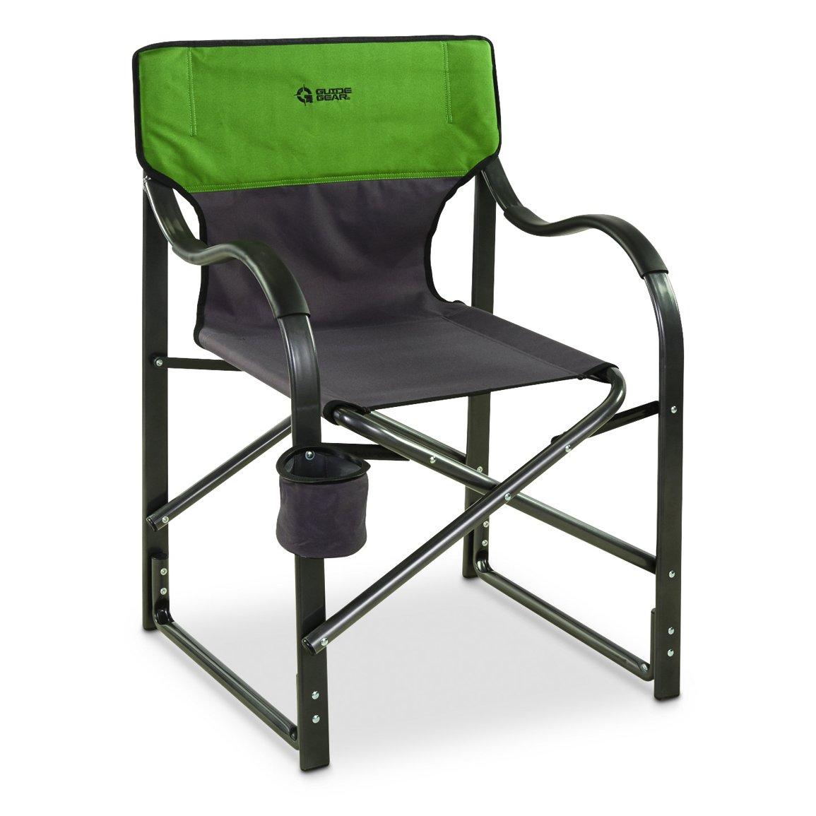 ガイドギアOversized Aluminum Camp Chairグリーン B079MDD37G