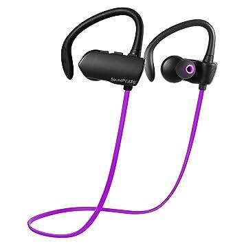 Auriculares Deportivos cascos Bluetooth 4.1 para Correr, fitness ...