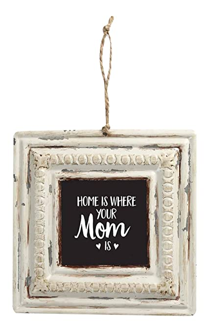 Amazon.com: Brownlow Gifts Home is Where Your Mom is Vintage Tin ...