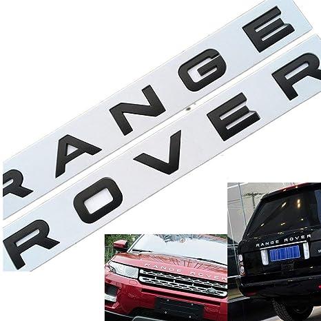 Amazon.com: Emblemas L-a-n-d R-o-v-e-r: Automotive