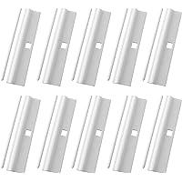 AXLIZER 10PCS Vertical Curtain Simple Hanging Film, Vertical Blind Top Hanger, Vertical Curtain Repair Clip, Vertical…