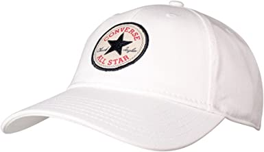 Parpadeo extremadamente Tesoro  Amazon.com: Converse Gorra de béisbol curvada de sarga clásica, unisex,  talla única: Clothing