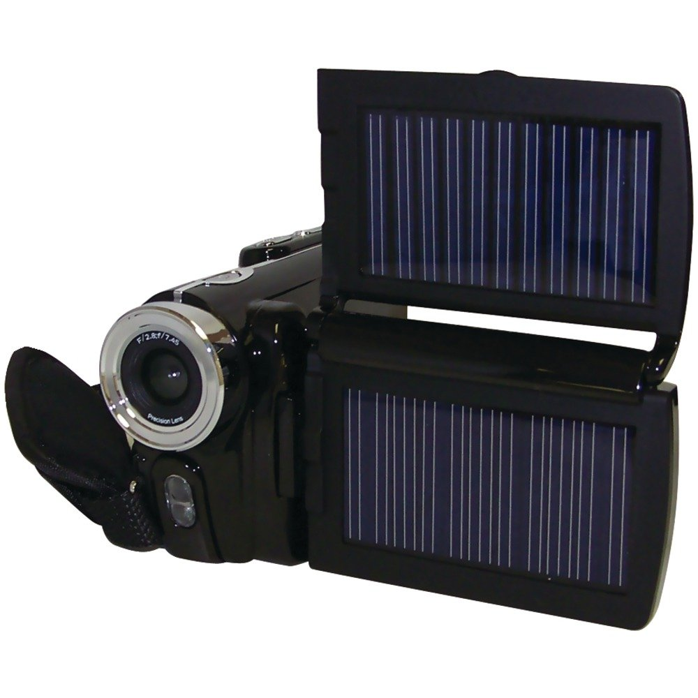 Cobra Digital HDVC6000 SOLAR 12 MP HD Digital Video Camera and  3.0-Inch LTPS Display HDVC6000 by Cobra Digital