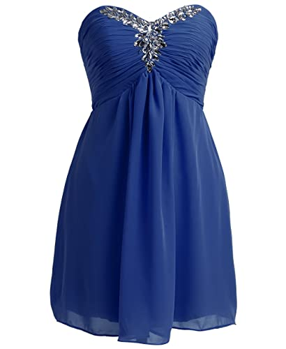 FAIRY COUPLE Strapless Bridesmaid Formal Evening Cocktail Party Dress D0143