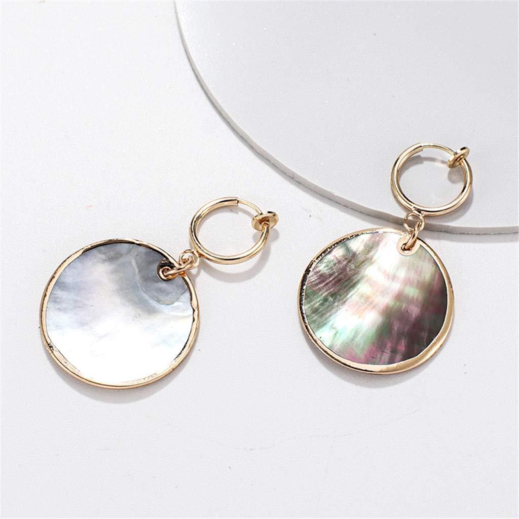 Mitiy Handmade Shell Conch Drop Dangle Earrings Fashion Jewelry Gifts for Women Girls