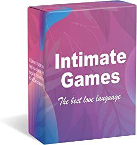 Intimate Game 160 Card Games for Couples, Learn About Your Partner, Increase Topics, and Increase Emotional Interest