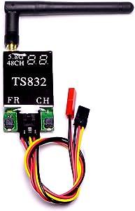 TS832 48Ch 5.8G FPV Transmitter 600mw 5km Long Range Audio Wireless Video Transmitter Module for FPV Racing Drone