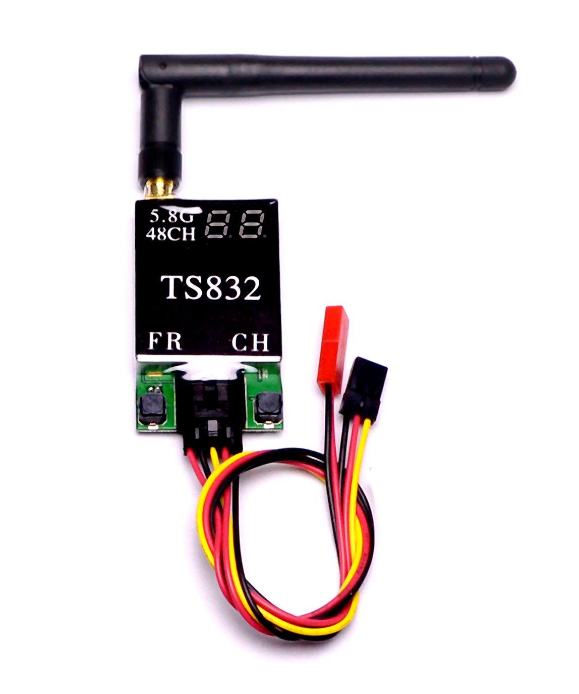5.8g 48ch Ts832 Fpv Transmisor 600mw 5km De Largo Alcance Modulo De Transmisor De Video Inalambrico De Audio Para Racing