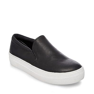 Steve Madden Women's Gills Fashion Sneaker, Grey Suede, 7 M US